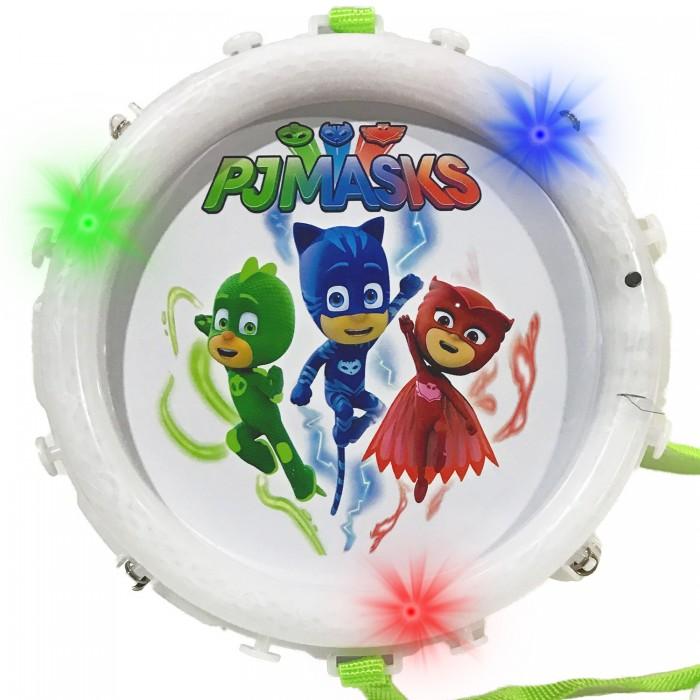 Купить Музыкальные инструменты, Музыкальный инструмент Герои в масках (PJ Masks) Барабан со световыми эффектами