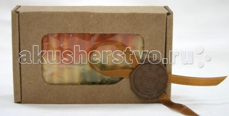 Косметика для мамы Jurassic Spa Мыло твердое кастильское иланг+мандарин 110 г косметика для мамы jurassic spa мыло для волос от выпадения 110 г