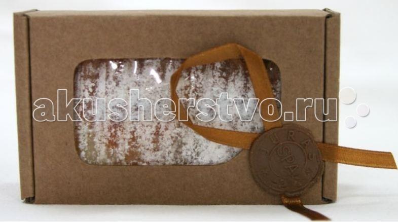 Косметика для мамы Jurassic Spa Мыло твердое соляное Клубника 110 г косметика для мамы jurassic spa мыло для волос от выпадения 110 г