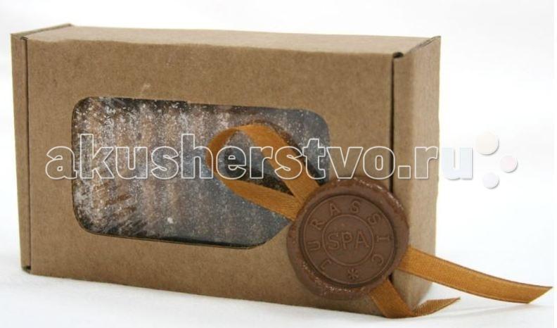Косметика для мамы Jurassic Spa Мыло твердое соляное ваниль+корица 110 г косметика для мамы jurassic spa мыло для волос от выпадения 110 г