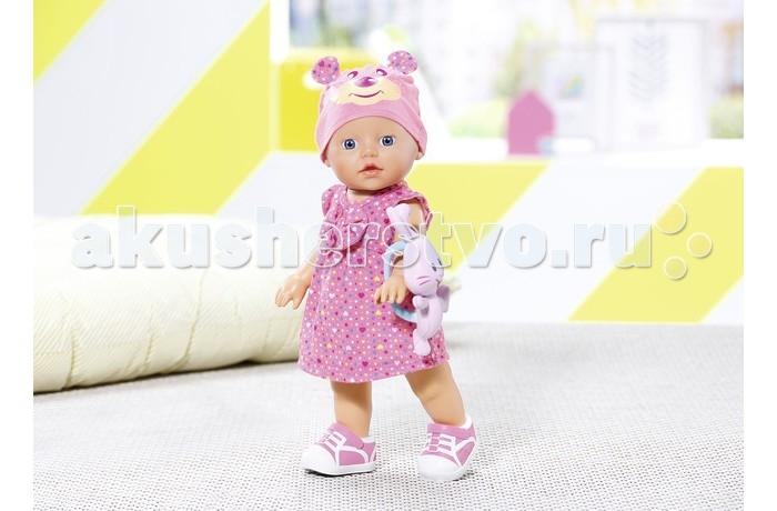 Куклы и одежда для кукол Zapf Creation Игрушка my little BABY born Кукла Топ-топ 32 см basiс baby штанишки my little captain