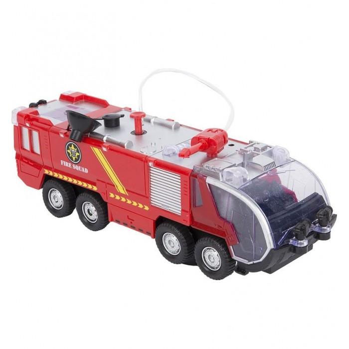 Машины Zhorya Пожарная машина с водяной пушкой ZYB-B0725 машины zhorya автобус на р у zyb 00126 2
