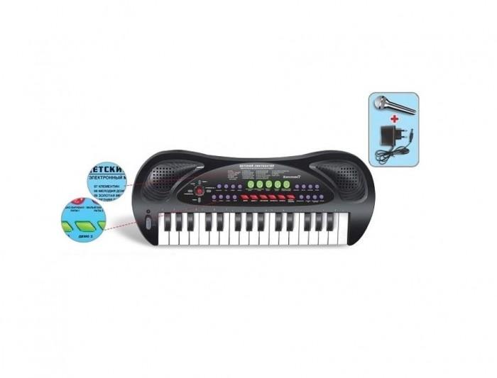 Музыкальные игрушки Zhorya Синтезатор 32 клавиши музыкальные инструменты rinzo синтезатор