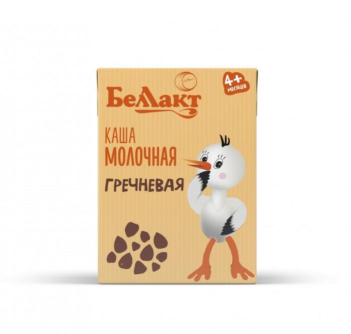 Каши Беллакт Каша молочная гречневая стерилизованная 4 мес. 207 г пудовъ мука гречневая 500 г