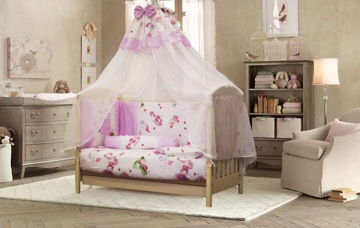 Комплекты в кроватку ByTwinz Маленькая фея (8 предметов)