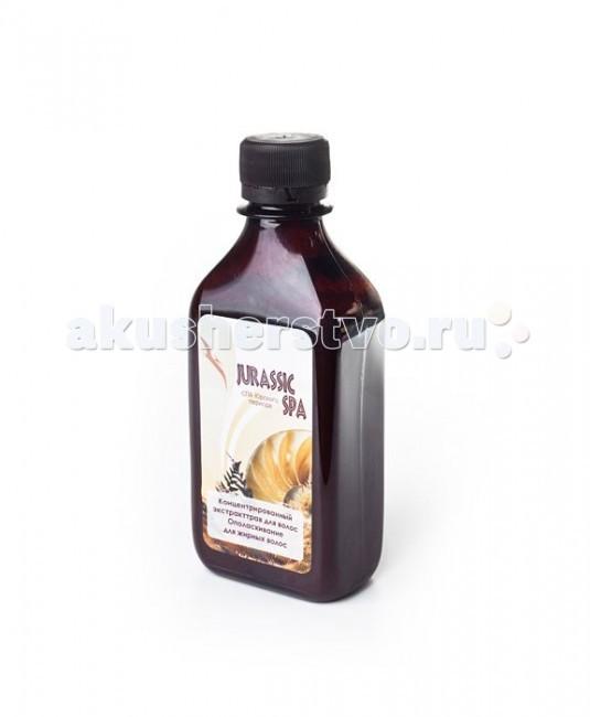 Косметика для мамы Jurassic Spa Концентрированный экстракт трав для жирных волос 250 мл антицеллюлитный крем натуральное армирование jurassic spa 250 мл