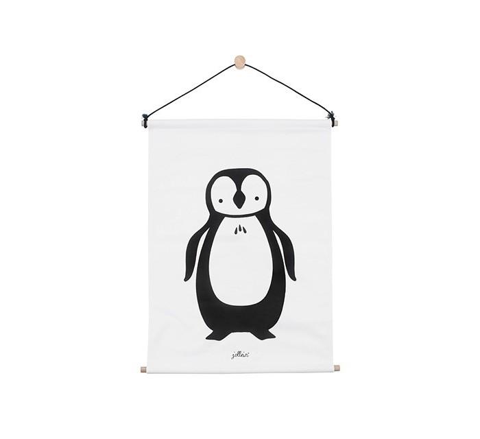 Карманы и панно Jollein Постер Пингвин 42x60 см