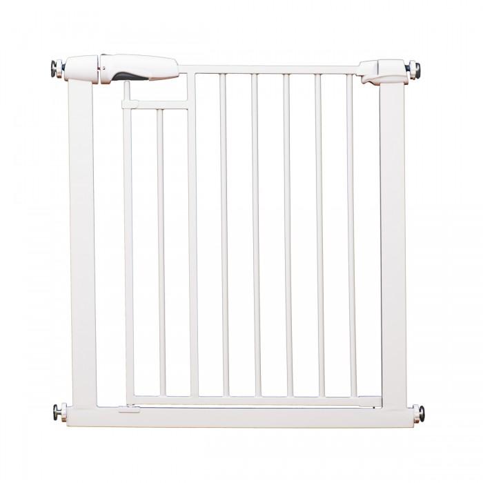 Барьеры и ворота Baby Safe Барьер-калитка для дверного проема на магнитном замке 76-83 см, Барьеры и ворота - артикул:467341