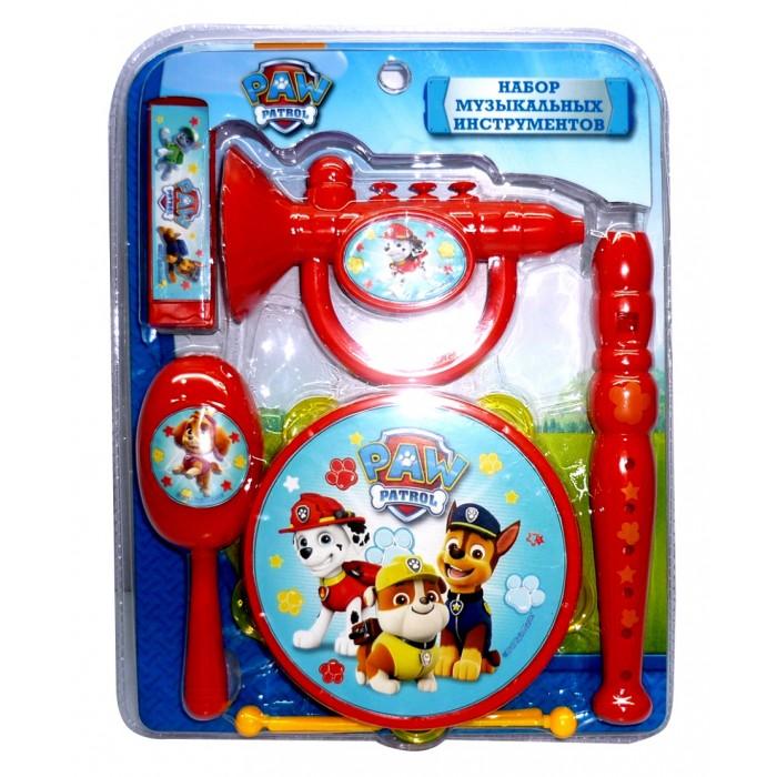 Музыкальные игрушки Щенячий патруль (Paw Patrol) Набор музыкальных инструментов музыкальные игрушки стеллар дудочка
