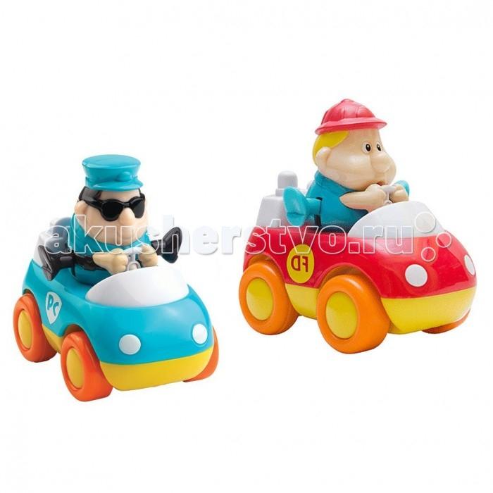 Машины Happy Kid Toy Спасательные машинки Пожарная и Скорая помощь 2 шт.