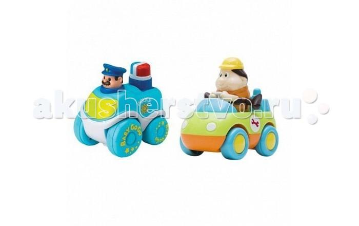 Машины Happy Kid Toy Спасательные машинки Техническая помощь и Полиция 2 шт.