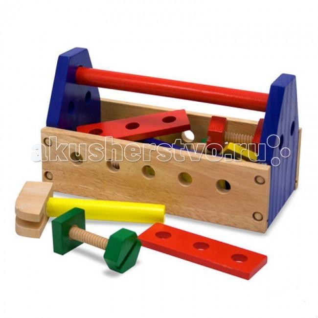 Деревянные игрушки Melissa & Doug Набор инструментов 494M деревянные игрушки melissa