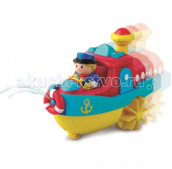 Купание малыша , Игрушки для ванны Happy Kid Toy Игрушка для купания Водный транспорт пароход арт: 468121 -  Игрушки для ванны