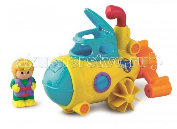 Купание малыша , Игрушки для ванны Happy Kid Toy Игрушка для купания Водный транспорт субмарина арт: 468131 -  Игрушки для ванны