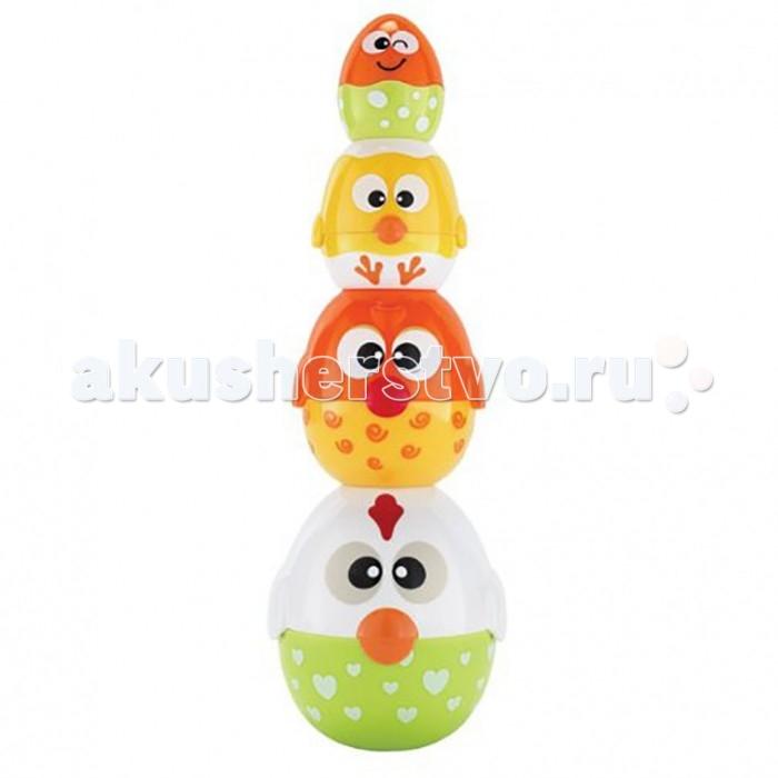 Развивающие игрушки Happy Kid Toy Пирамидка-матрешка Курочка-несушка, Развивающие игрушки - артикул:468196