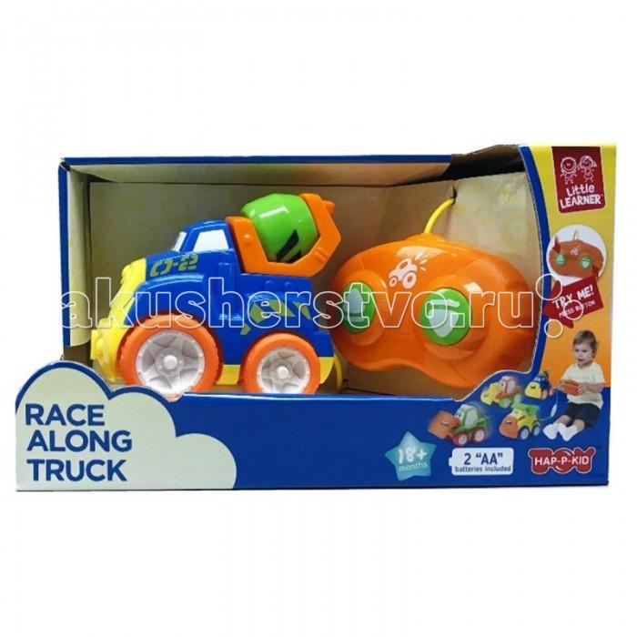 Машины Happy Kid Toy Машинки на д/у Бетономешалка happy kid пингвиненок на катере с 2 лет