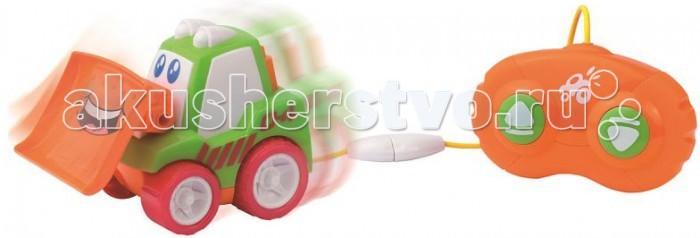 Машины Happy Kid Toy Машинки на д/у Бульдозер игрушечные машинки на пульте управления по грязи купить