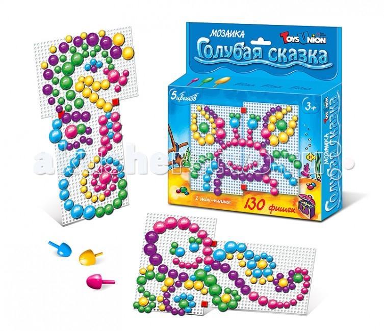 Мозаика ToysUnion Мозаика Цветные сказки Голубая сказка напольная мозаика пазл toysunion цветочки 25эл 00 102