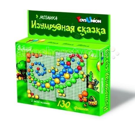 Мозаика ToysUnion Мозаика Цветные сказки Изумрудная сказка мозаики toysunion мозаика лиловая сказка