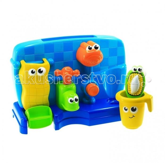Купание малыша , Игрушки для ванны Happy Kid Toy Набор для купания Мойдодыр арт: 468841 -  Игрушки для ванны