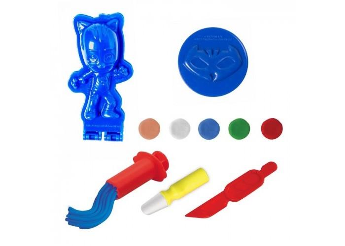 Всё для лепки Герои в масках (PJ Masks) Набор для лепки Будь героем с Кэтбоем фигурки игрушки pj masks фигурка кэтбой тм герои в масках 8 см