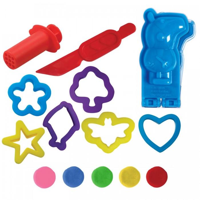 Всё для лепки Свинка Пеппа (Peppa Pig) Набор для лепки Морское путешествие набор для лепки фантазер глина голубая 217011