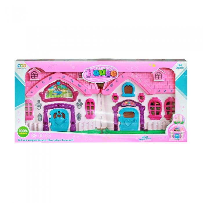 Кукольные домики и мебель Jia Xuan Long Toys Кукольный дом со светозвуковыми эффектами JB202100