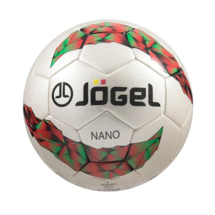 Мячи Jogel Мяч футбольный JS-200 Nano №5 мяч футбольный jogel light цвет белый размер 4 js 550