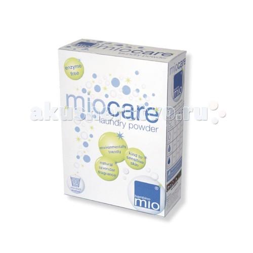 Детские моющие средства Bambino Mio Порошок для стирки подгузников MioCare 800 г mio mirad 800