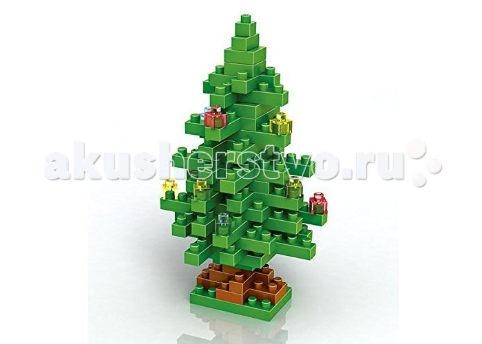 Конструкторы Loz Diamond Block Christmas tree 130 деталей loz мини конструктор diamond block сорванец стю