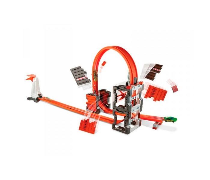 Машины Hot Wheels Mattel Конструктор трасс: взрывной набор mattel hot wheels fll01 хот вилс конструктор трасс
