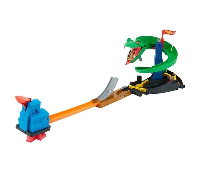 Машины Hot Wheels Mattel Сити Игровой набор Бросок Кобры пледы непоседа покрывало стеганое hot wheels найт сити 145х200 см
