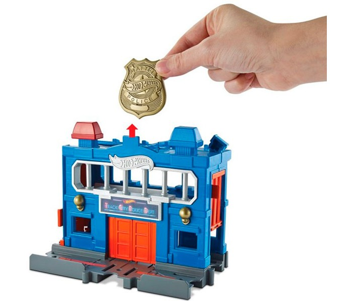 Машины Hot Wheels Mattel Сити Игровой набор FRH33 пледы непоседа покрывало стеганое hot wheels найт сити 145х200 см