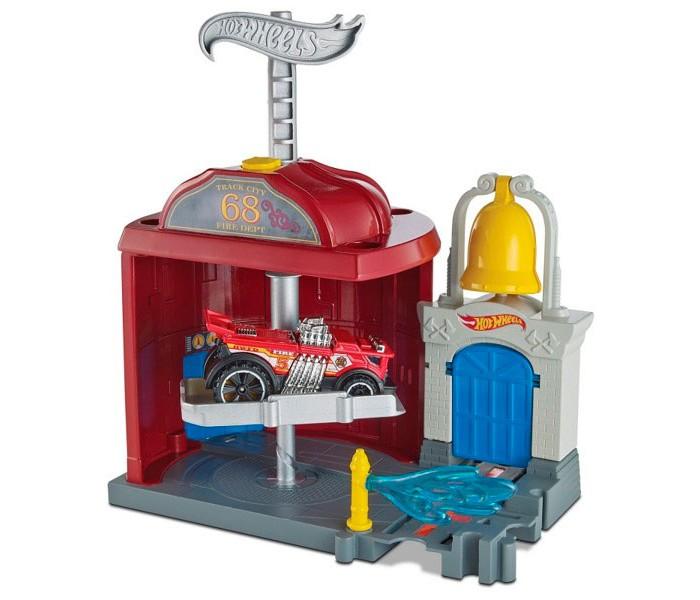 Машины Hot Wheels Mattel Сити Игровой набор FRH29 пледы непоседа покрывало стеганое hot wheels найт сити 145х200 см