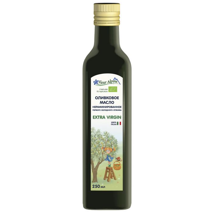 Масло Fleur Alpine Детское оливковое масло 250 мл масло оливковое bioitalia нерафинированное с апельсином 250мл