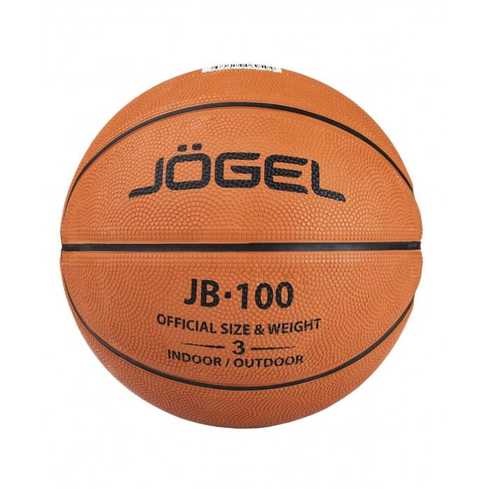 Мячи Jogel Мяч баскетбольный JB-100 №3 мяч баскетбольный jogel цвет коричневый размер 7 jb 700