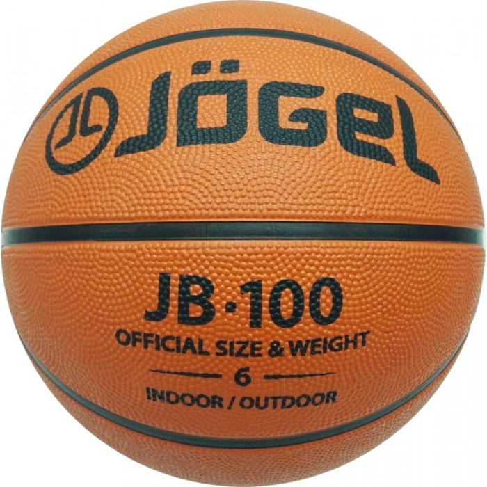 Мячи Jogel Мяч баскетбольный JB-100 №6 мячи спортивные jogel мяч баскетбольный jogel jb 100 6