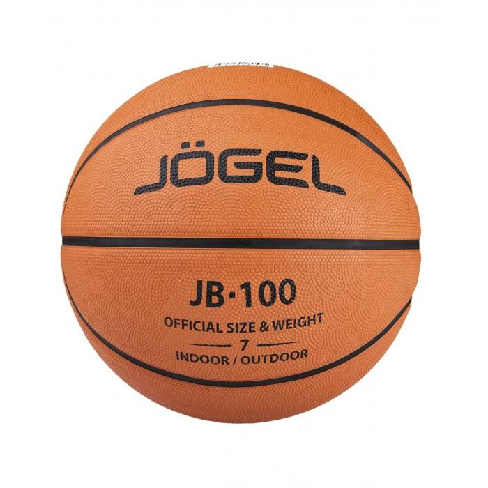 Мячи Jogel Мяч баскетбольный JB-100 №7 мячи спортивные jogel мяч баскетбольный jogel jb 500 5