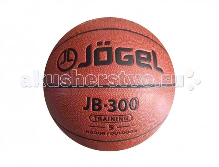 Мячи Jogel Мяч баскетбольный JB-300 №5 мяч баскетбольный jogel цвет коричневый размер 7 jb 700