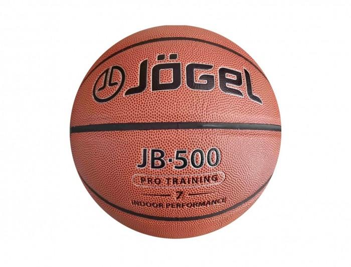 Мячи Jogel Мяч баскетбольный JB-500 №7 мяч баскетбольный jogel цвет коричневый размер 7 jb 700