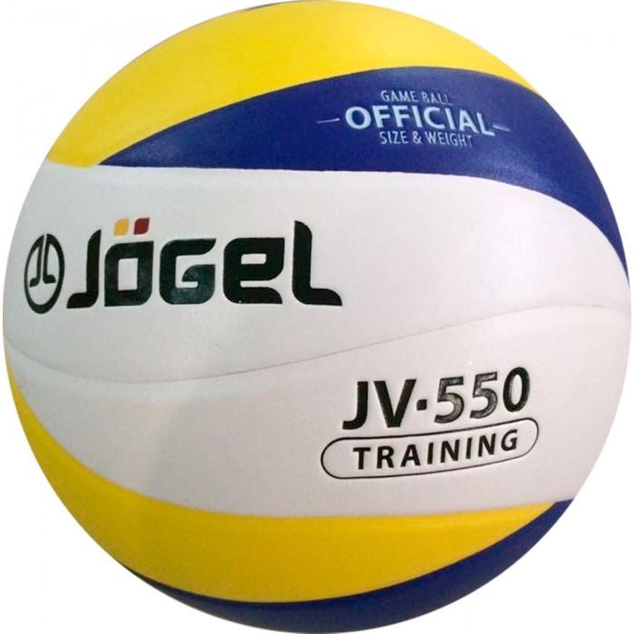 Мячи Jogel Мяч волейбольный JV-550 мячи спортивные jogel мяч баскетбольный jogel jb 300 6