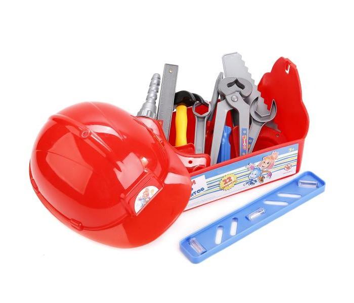 Ролевые игры Играем вместе Набор строительных инструментов Фиксики подарочный набор 3в1 фиксики 00384