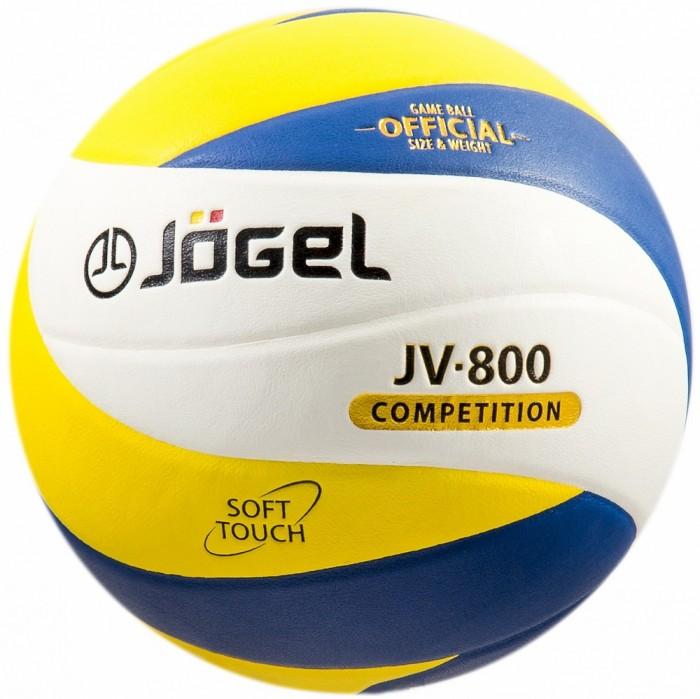 Мячи Jogel Мяч волейбольный JV-800 мячи спортивные jogel мяч баскетбольный jogel jb 300 6