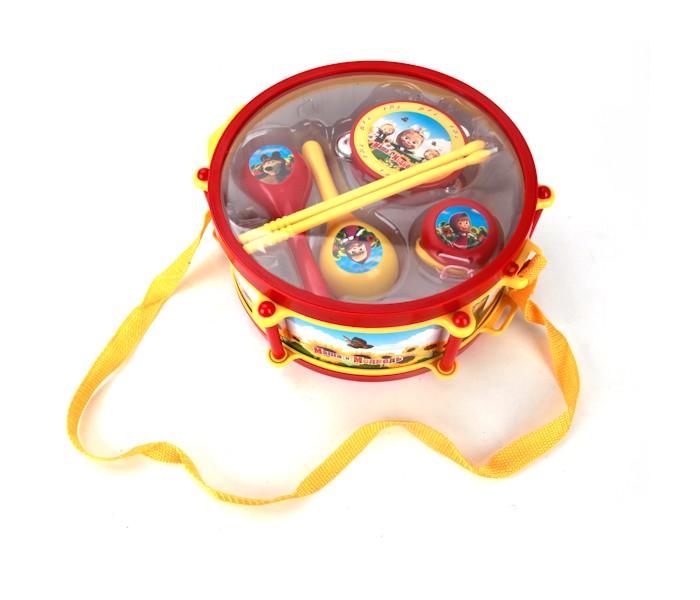 Музыкальные игрушки Играем вместе Инструменты Маша и Медведь игрушки для ванной играем вместе набор для купания маша и медведь
