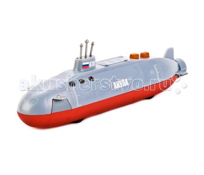 Электронные игрушки Технопарк Инерционная модель подводной лодки Акула люди лодки море а покровского
