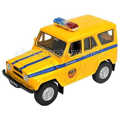 Машины Welly Модель машины УАЗ 31514 Милиция 42380RT welly welly модель машины газель пожарная охрана