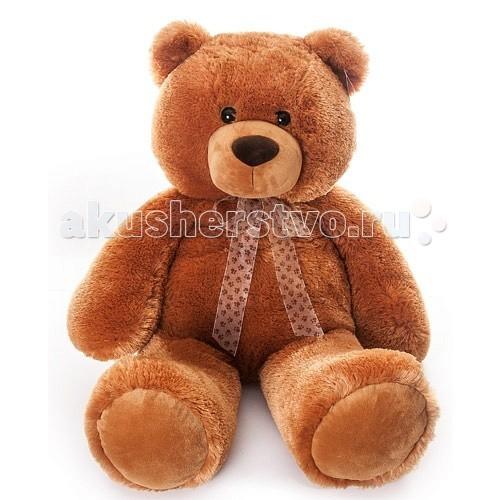 Мягкая игрушка Aurora Медведь коричневый сидячий 70 см 615-89Медведь коричневый сидячий 70 см 615-89Мягкая игрушка Aurora Медведь коричневый сидячий 70 см 615-89  Большой мишка изготовлен из экологически чистых материалов: высококачественного плюшa и гипoaллepгeнного cинтепoна.  Не выцветает и не деформируется при стирке.  Длина игрушки: 70 см<br>