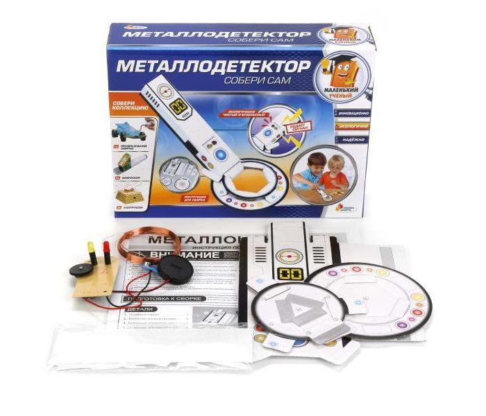 Наборы для творчества Играем вместе Опыты: Металлодетектор наборы для поделок играем вместе набор для творчества