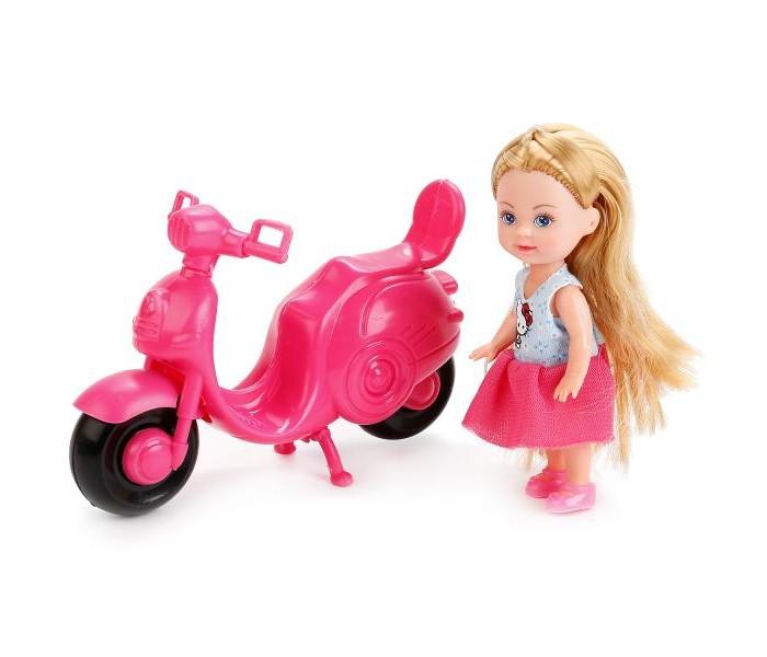 Куклы и одежда для кукол Карапуз Кукла Hello Kitty Машенька на скутере куклы карапуз кукла карапуз hello kitty машенька 12 см на скутере