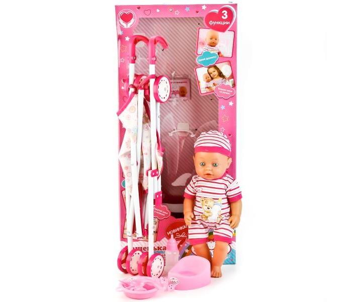 Куклы и одежда для кукол Карапуз Функциональная кукла Пупс Сашенька куклы s s функциональная кукла